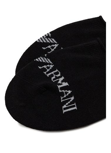 Emporio Armani  Pamuklu Çorap Erkek Çorap 306227 1P254 50620 Siyah